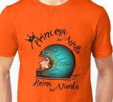 Lady Motorcycle Unisex T-Shirt