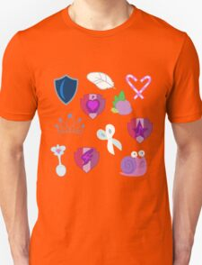 My little Pony - Foals of Ponyville Cutie Mark (with Nyx + Spike) T-Shirt