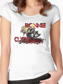 Bonnie & Clyde Women's Fitted Scoop T-Shirt