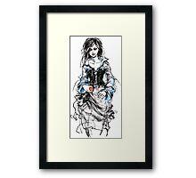 The return of Snow White Framed Print