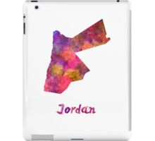 Jordan  in watercolor iPad Case/Skin
