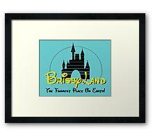 Brisby Land! Framed Print