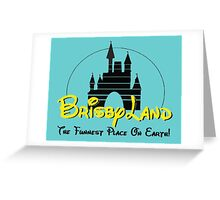 Brisby Land! Greeting Card