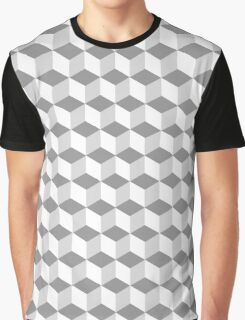 50 Shades of Squares Graphic T-Shirt