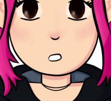 Ramona Flowers, Pink hair Sticker