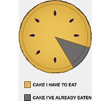 Cake Chart! Photographic Print