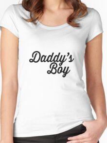 Daddy's Boy - Unbreakable Kimmy Schmidt Women's Fitted Scoop T-Shirt