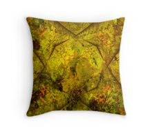 Abstract 1D Throw Pillow
