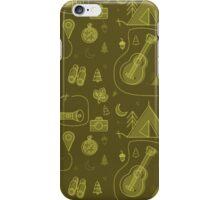 Camping Seamless Pattern. iPhone Case/Skin
