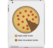Pizza Chart! iPad Case/Skin