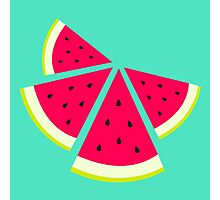Summer Fresh Fruit - Watermelons Photographic Print
