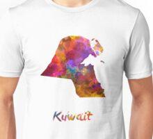 Kuwait  in watercolor Unisex T-Shirt