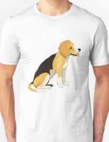 Golden yellow beagle  T-Shirt