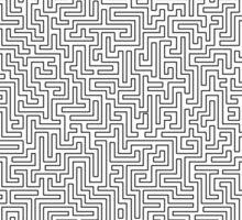 Hyper Maze TROPICAL SUNSET Sticker