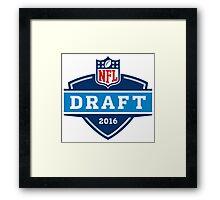 NFL Draft 2016 Framed Print