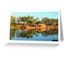 Sherlock River - Pilbara, WA Greeting Card