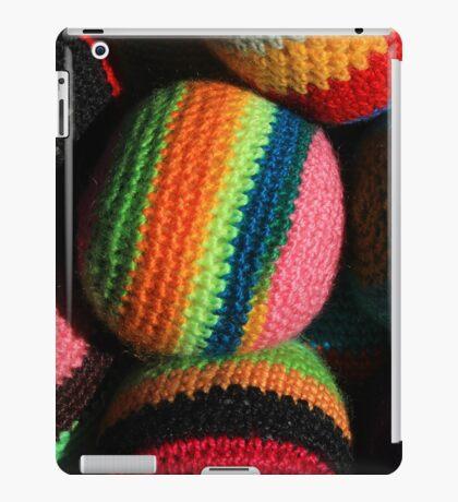 Colorful Knit Balls iPad Case/Skin