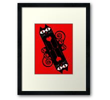 LOVECAT 2 Framed Print