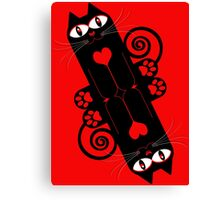 LOVECAT 2 Canvas Print