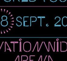 18th September - Nationwide Arena Sticker