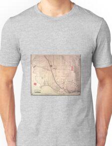 Toronto Map 1880 Unisex T-Shirt