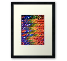 Colorful Knit Sweaters Framed Print