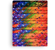 Colorful Knit Sweaters Canvas Print