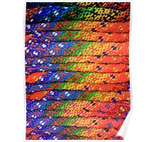 Colorful Knit Sweaters Poster