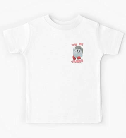 Wii Fit Trainer Kirby Kids Tee