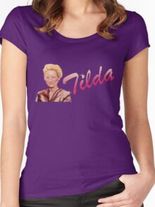 Tilda Swinton (Kimmy Schmidt) Women's Fitted Scoop T-Shirt