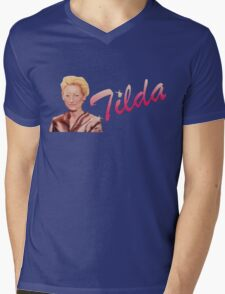 Tilda Swinton (Kimmy Schmidt) Mens V-Neck T-Shirt