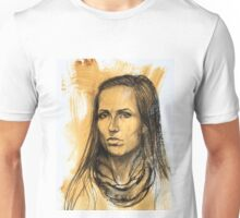 Portrait of Aimee Unisex T-Shirt