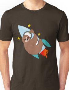 Space Bound Sloth Unisex T-Shirt