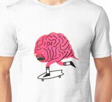 Skateboarding Brain Unisex T-Shirt