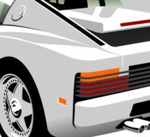 Ferrari Testarossa from Miami Vice Sticker