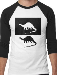 Brontosaurus Men's Baseball ¾ T-Shirt