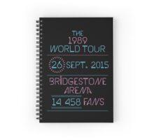 26th September - Bridgestone Arena Spiral Notebook