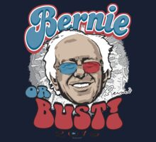 Bernie or Bust 2016 One Piece - Long Sleeve