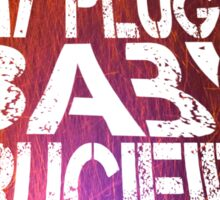 Muse Plugin Baby - big guitar Sticker