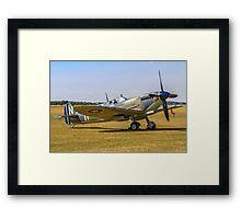 Seafire LF.IIIc PP972 G-BUAR Framed Print