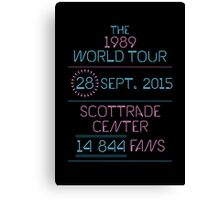 28th September - Scottrade Center Canvas Print