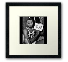 Curry 400 Framed Print