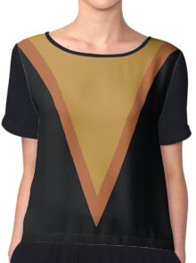 Screen Uniforms - Lost In Space - Dr Zachary Smith - Style 1 Chiffon Top