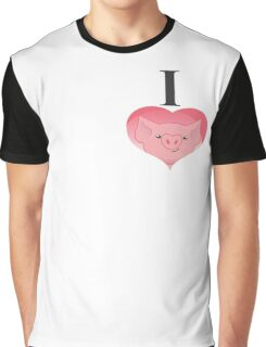 I love pig Graphic T-Shirt