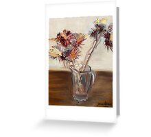 prickles oh vincent wow Greeting Card