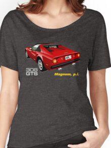 Ferrari 308 GTS from Magnum, p.i. Women's Relaxed Fit T-Shirt