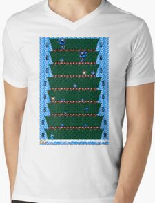 Megaman Climber Mens V-Neck T-Shirt