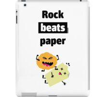 Rock Beats Paper iPad Case/Skin