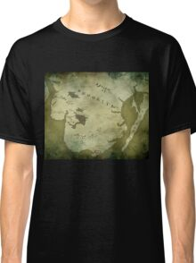 Brooklyn Map-Green Classic T-Shirt