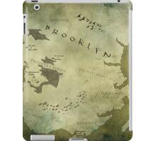 Brooklyn Map-Green iPad Case/Skin